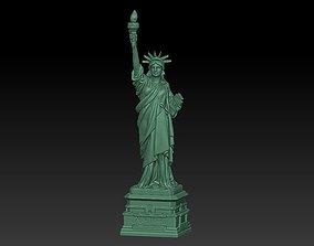 sculpture Statue of liberty 3D model