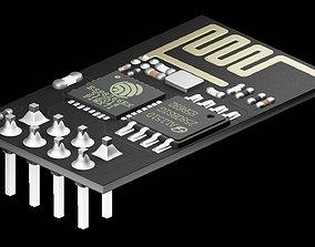 ESP8266WiFi module 3D model