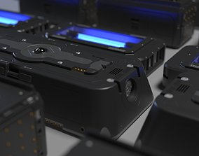 3D sci-fi spare parts