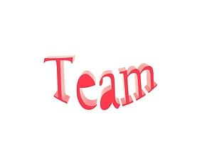 3D team logotype