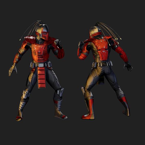 Mortal Kombat: Sektor & Cyrax