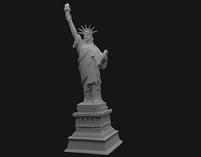 newyork 3D printable model Statue Of Liberty