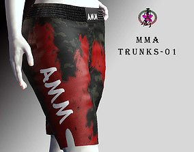 MMA Trunks-01 3D asset