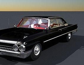 3D model 1961 Ford Galaxie Club Victoria