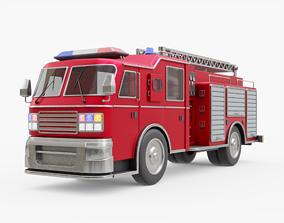 3D model Fire Truck Generic