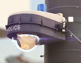 Police Surveillance Camera 3D