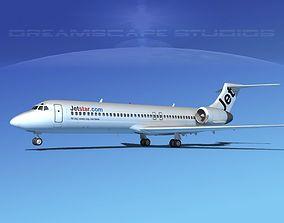 3D model Boeing 717-200 Jet Star 1
