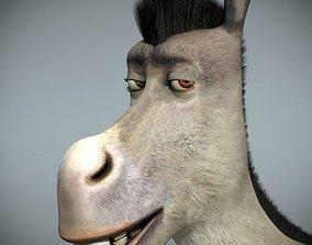 Donkey 3D model