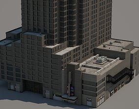 3D model 1675 Broadway theatre