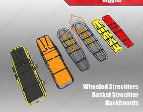 Stretchers Gurneys 3D model