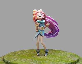 League of Legends Zoe 3D printable model