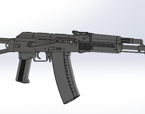 3D Airsoft VFC AKs74 modell Gearbox is not included