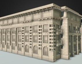 3D model architecture classic details