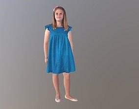 No150 - Pretty Girl Standing 3D