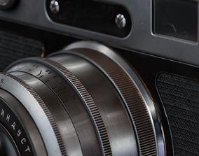 rigged Zorki-6 camera - Model and Textures - Blender Eevee