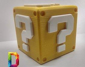 game-character QUESTION BOX SUPER MARIO 3D printable model
