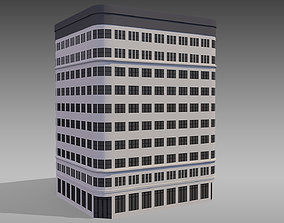 3D model Commercial Building 004