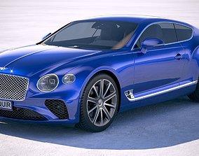 3D model 2022 Bentley Continental GT 2018