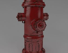 Fire hydrant architectural 3D