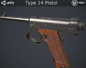 3D model Type 14 Pistol