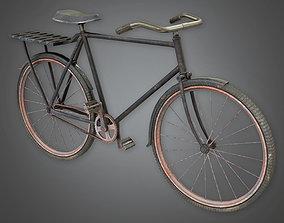 Old Bike TLS - PBR Game Ready 3D model game-ready