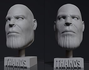 3D printable model Thanos Head Statue