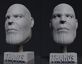 3D printable model Thanos Head Statue