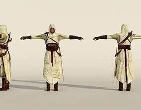 3D model assassin s creed low poly