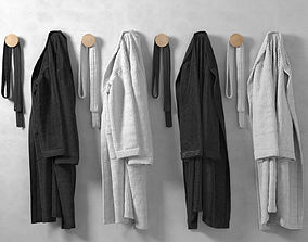 3D Hanging Bathrobes 2