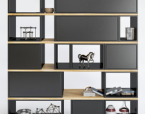 3D model Awesome Contemporary Bookshelves