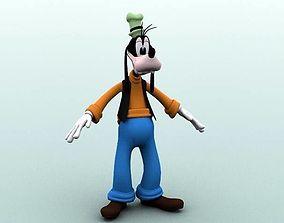 3D model Goofy