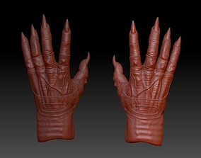 Predator inspired hands 3D printable model