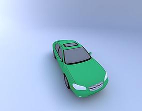1999 Nissan Maxima SE 3D model