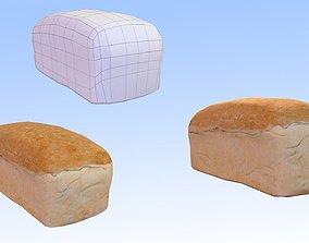 3D asset Loaf of Bread