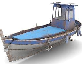 Fishing Boat 04 3D asset