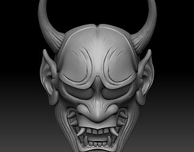 ONI MASK 3D printable model face