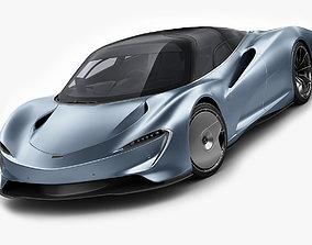 3D McLaren Speedtail
