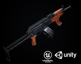 AK-47 Variants PBR 3D asset