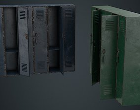 Locker 1B 3D asset