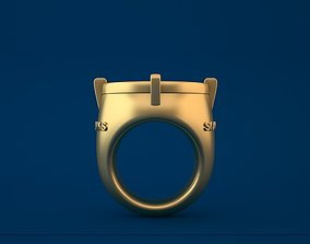 3D printable model SEATTLE SEAHAWKS World Champions Ring