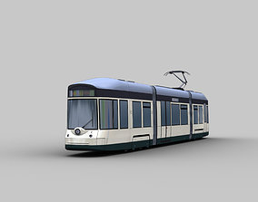 3D model Linz Tram Austria
