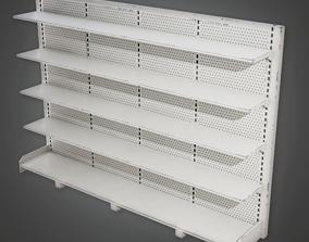 SAM - Commercial Shelf 06 - PBR Game Ready 3D model