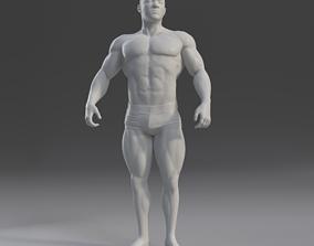 Male Anatomy Study 3D