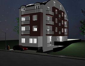 fasade Building 3D model