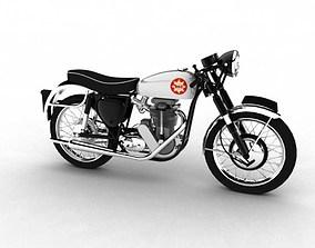 BSA Gold Star 1960 3D model