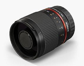3D model Rokinon Reflex 300mm f6-3 ED UMC CS Lens
