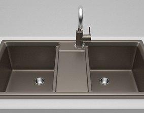 3D model Kitchen Sink 2