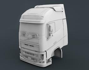 Volvo FH16 Cabin 3D printable model