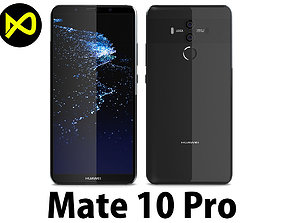 Huawei Mate 10 Pro Titanium Grey 3D model