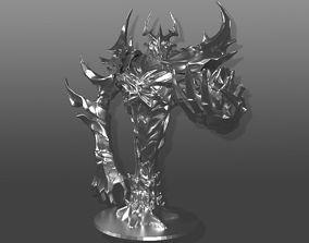 3D printable model Shadow Fiend sculpture